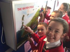 Learning lots about water on the NI Water Bus